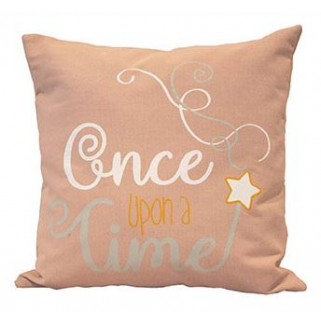 Pericles - coussin 45 x 45 once upon a time rose