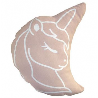 Pericles - coussin licorne rose