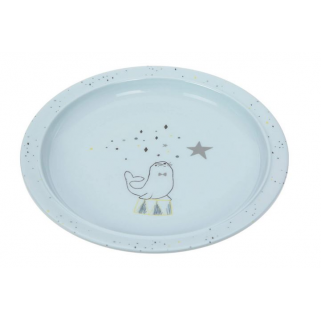 Lassig – assiette melamine/silicone more magic phoque