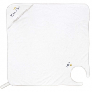 Domiva - cape de bain tablier mini moi